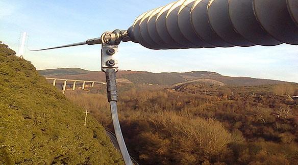 Línea Aérea A.T. 132 kV TREMOR